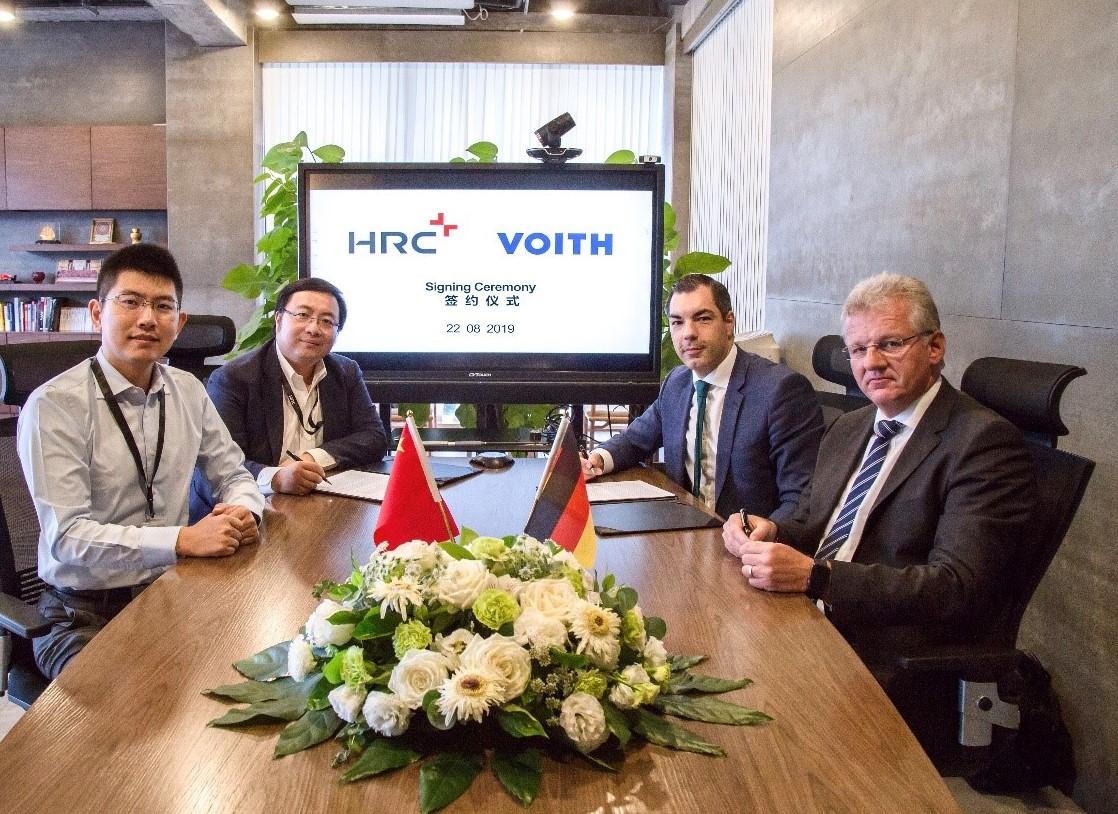 HRC与Voith签署战略合作备忘录,共同开发碳纤维氢燃料储罐系统